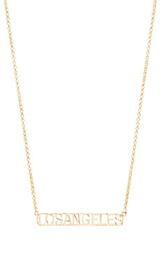 Los Angeles Frame Necklace