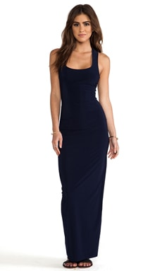 Maxi Tank Dress in Navy