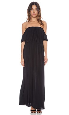T-Bags LosAngeles Strapless Maxi Dress in Black
