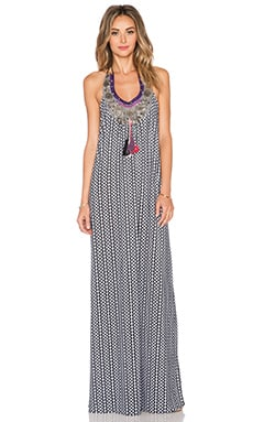 T-Bags LosAngeles Embellished Maxi Dress in Manhattan