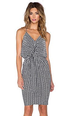 T-Bags LosAngeles Knot Front Mini Dress in Manhattan