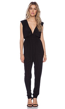 T-Bags LosAngeles Cut Out Jumpsuit in Black