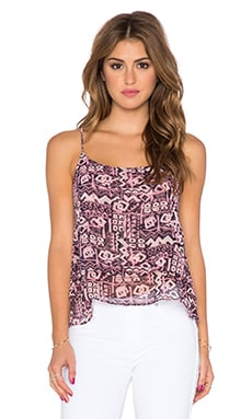 T-Bags LosAngeles Sleeveless Tank in Pink Aztec