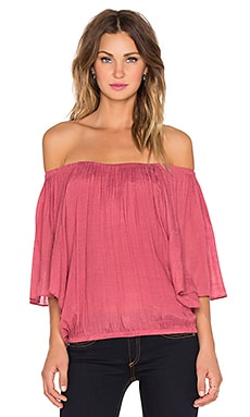 T-Bags LosAngeles 3/4 Sleeve Top in Mauve