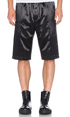 T by Alexander Wang Tuxedo Tear Away Short in Matrix