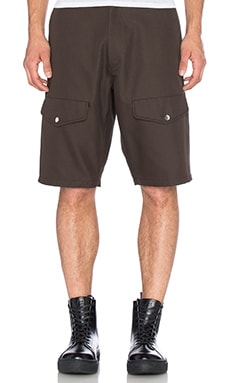 T by Alexander Wang Cargo Short in Exhaust