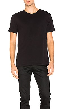 T by Alexander Wang Classic Short Sleeve Tee in Black