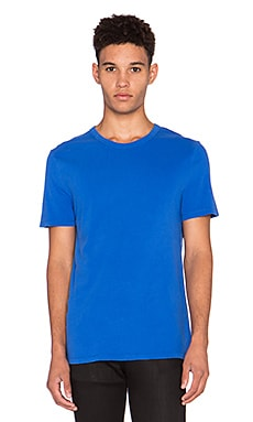 T by Alexander Wang Classic Pima Cotton Tee in Vein