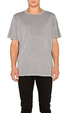 T by Alexander Wang S/S Tee in Slate