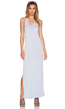 T by Alexander Wang Classic Tank Maxi Dress in Periwinkle