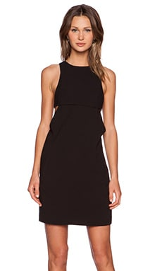 T by Alexander Wang Bra Strap Back Cami Dress in Black