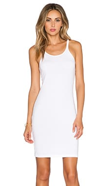 Cami Tank Dress in White