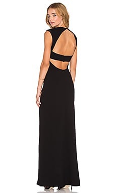 Exposed Back Maxi Dress