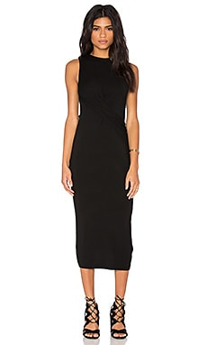 Twist Dress in Black