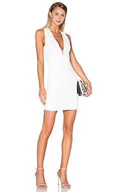 T by Alexander Wang Hook & Eye Tank Dress in Ivory
