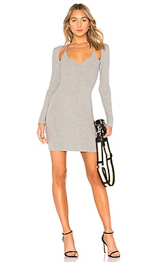 Compact Rib Cutout Dress T by Alexander Wang $325