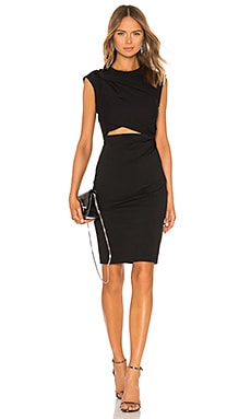 Shoulder Twist and Key Hole Dress T by Alexander Wang $325 NEW ARRIVAL