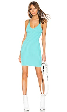 Shrunken Rib Fitted Tank Dress T by Alexander Wang $166 Collections
