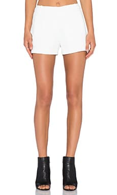 T by Alexander Wang Trouser Short in White