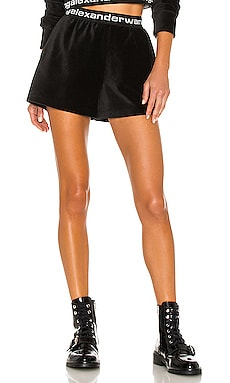 Stretch Corduroy Shorts T by Alexander Wang $265 NEW