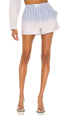 Ombre Stripe Oxford Boxer Short T by Alexander Wang $250