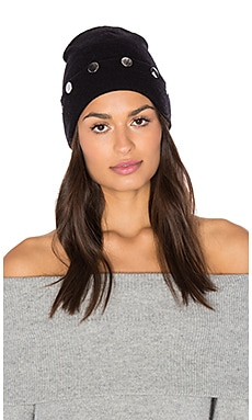 Cashwool Beanie in Black