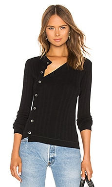Deconstructed Placket Sweater Top T by Alexander Wang $395 NEW ARRIVAL