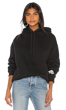 Dense Fleece Bubble Hoodie T by Alexander Wang $325
