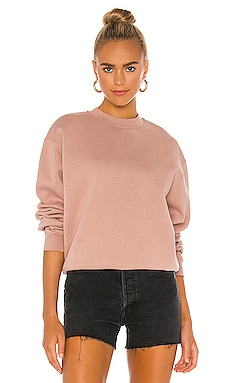 Foundation Terry Crewneck Sweatshirt T by Alexander Wang $185