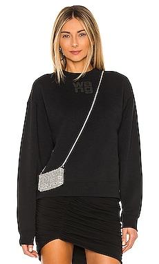 Foundation Terry Crew Sweatshirt T by Alexander Wang $185 BEST SELLER