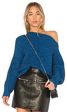 Mohair Asymmetrical Sweater