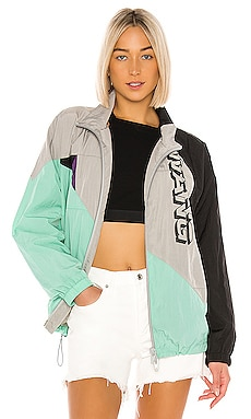 Heavy Washed Nylon Jacket T by Alexander Wang $425