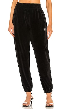 Sweatpant with Crystal Logo T by Alexander Wang $325 Collections