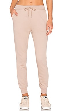 French Terry Sweatpant in Sandstone