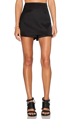 T by Alexander Wang Skort in Black
