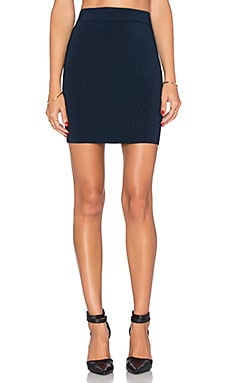 T by Alexander Wang Pencil Skirt in Midnight