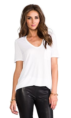 Classic T with Pocket en Blanco