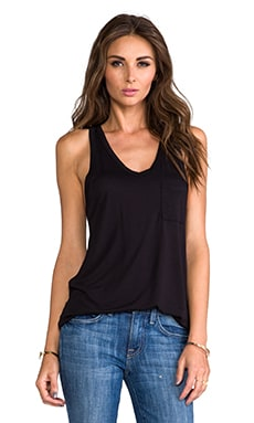 Classic Pocket Tank in Black