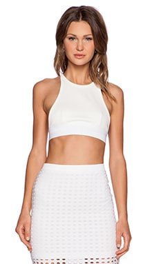 T by Alexander Wang Sports Bra in White