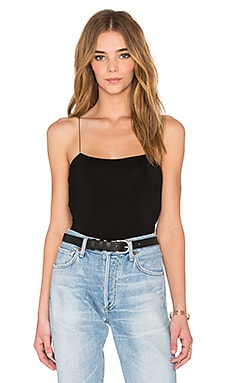 T by Alexander Wang Strappy Cami in Black
