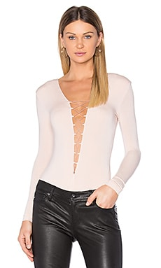 Lace Up Bodysuit