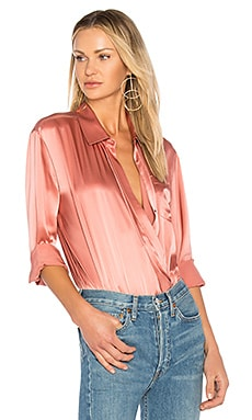Wrap Shirt Bodysuit