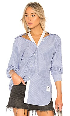 Striped Long Sleeve Shirt T by Alexander Wang $350