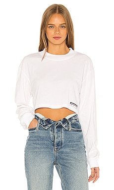 Wash & Go Cropped Top T by Alexander Wang $175