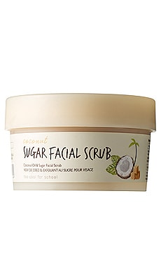 Coconut Sugar Facial Scrub Too Cool For School $25