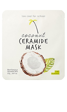 Coconut Ceramide Mask Too Cool For School $6