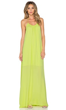 Three Eighty Two Kallie Halter Maxi Dress in Margarita