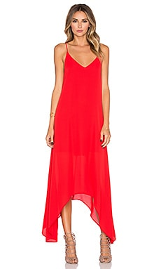 Three Eighty Two Grayson Dress in Scarlet