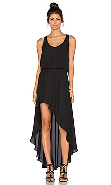 Three Eighty Two Ariel Maxi Dress in Black