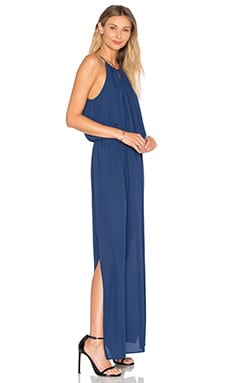 Three Eighty Two Kaden Halterneck Dress in Marlin